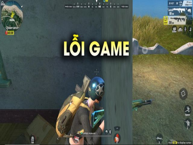 khắc phục lỗi game rules of survival