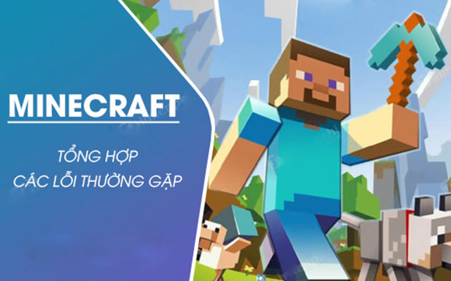 lỗi trong game minecraft