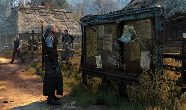 nhiệm vụ The Witcher 3